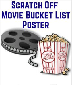 scratch off movie bucket list poster
