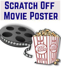 scratch off movie poster