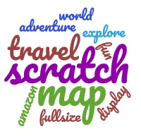 Scratch Map words