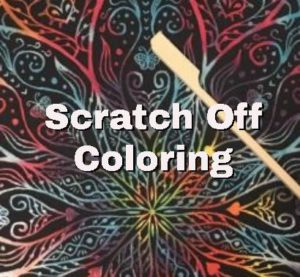 scratch off coloring